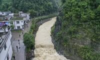 中国南方洪灾严重