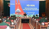 越南国防部就新冠肺炎防控工作召开会议