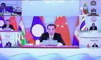 中国建议促进湄公河-澜沧江合作