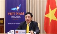 越南呼吁交战各方严格执行全球停火协议