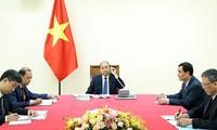越南和日本希望将两国合作关系提升至新水平