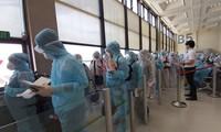 将240多名在中国台湾的越南公民接回国