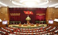 越共十二届中央委员会十四次会议进入第二天