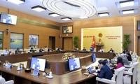 越南国会常委会第54次会议讨论人事工作