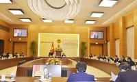 大力推动国会常务委员会与祖国阵线中央委员会主席团的合作
