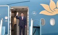 越南政府总理范明政启程出席东盟领导人会议