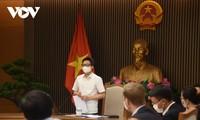 越南政府希望全国人民、企业界为防疫工作提供智慧、力量和资源