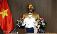 越南疫情防控国家指导委员会会议:加强工业区新冠肺炎疫情监测工作