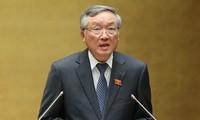 阮和平被推选为最高人民法院院长