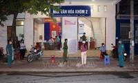 7月30日上午,越南新增近5000例新冠肺炎确诊病例