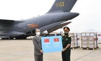 中国向越南赠送20万剂新冠疫苗