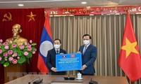 越南首都河内与老挝首都万象加强多领域合作