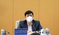 越南和中国卫生部门领导人交流防疫经验