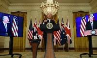 美国、英国、澳大利亚在印太地区建立三方安全伙伴关系