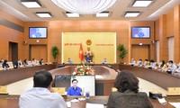 越南国会主席王庭惠就财政货币政策问题主持召开会议