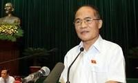 Parlamentspräsident führt Sitzung zur Verfassungsänderung