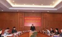 Die Zentralkommission für Reform tagt in Hanoi