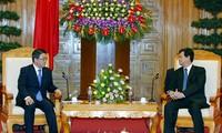 Premierminister Nguyen Tan Dung empfängt Leiter der japanischen Provinz Aichi