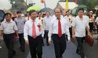 Parlamentspräsident Hung nimmt an Einweihung der Ben Thuy-Brücke 2 teil