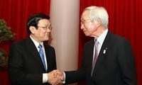 Staatspräsident Sang empfängt Vorsitzenden der japanischen IHK