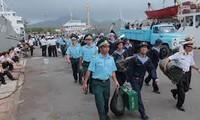 Austausch der Fischer bei den Paracel und Spratly-Inseln und den Grenzsoldaten