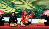 Ausstellung des Then-Gesangs in Lang Son