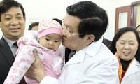 Staatspräsident fordert mehr Vorbeugungsmaßnahmen im Gesundheitswesen