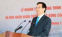 Premierminister bei Einweihung des Wasserkraftwerks Son La