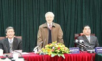 KPV-Generalsekretär  Trong bei Konferenz der Informations- und Erziehungsarbeit