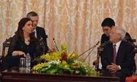 Argentinische Präsidentin besucht Ho Chi Minh Stadt