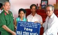 Hilfsprogramm für Bedürftige in Soc Trang