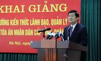 Staatspräsident Truong Tan Sang fordert bessere Qualifikationen für Justizmitarbeiter