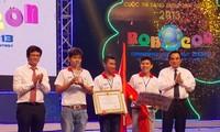 Hochschule Lac Hong gewinnt Roboterturnier 2013
