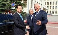 Premierminister Nguyen Tan Dung besucht Weißrussland