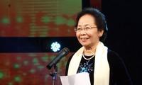 Vizestaatspräsidentin Nguyen Thi Doan empfängt Präsidenten der Uni Cady Ayyad Abdellatif Miraoui
