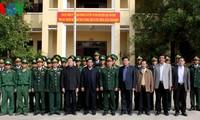 Staatspräsident Truong Tan Sang besucht Dac Nong