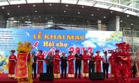 Mehr als 300 Stände auf der Frühlingsmesse in Danang
