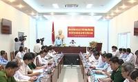 Vizeparlamentspräsident Uong Chu Luu besucht Ca Mau