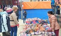 Der einzigartige Markt in der Bergregion Bac Ha