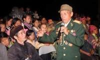 Panflötenklänge des Helden der Streitkräfte Mua A Pao