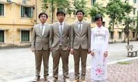Vietnamesische Schüler gewannen Preise bei internationaler Biologie-Olympiade