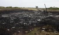 Opfer des Flugs MH-17 werden nach Donezk transportiert