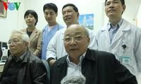 Diagnose zur Behandlung des erkrankten Nguyen Ba Thanh