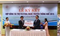Festival traditioneller Berufe 2015 in Hue