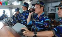 Vietnamesische Seepolizei führt Übungen durch