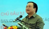 Vizepremierminister Hoang Trung Hai nimmt am Spatenstich der 2. Landebahn im Cam Ranh-Flughafen teil
