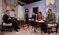 Russlands Premierminister Dmitri Medwedew besucht Vietnam