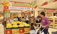 Mangos aus Vietnam im japanischen Markt