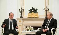 Russland und Frankreich bekräftigen Kampf gegen den Terror