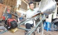 Nguyen Van Lang erfindet nützliche landwirtschaftliche Maschinen